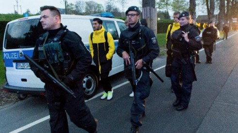 Dortmund lojtaret policia