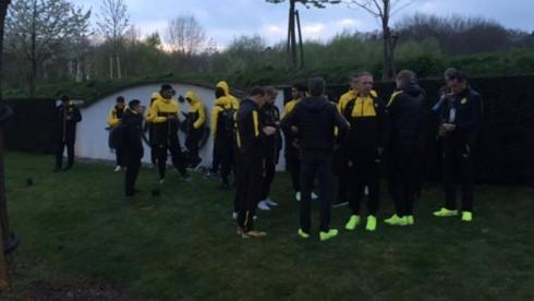 Dortmund lojtaret shperthimi