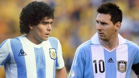 Mesi dhe Maradona