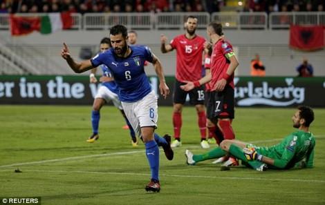 kandreva gol shqiperi itali