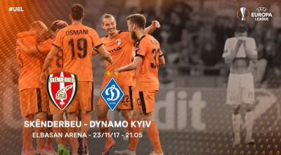 Skenderbeu - Dinamo Kiev