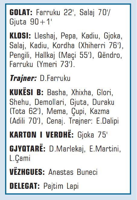 Klosi - Kukesi