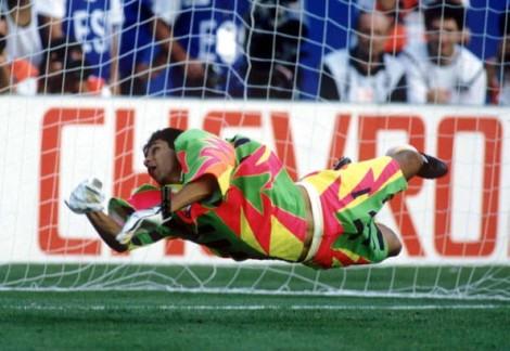"""Uniforma e portierit të Meksikës në Botërorin """"SHBA 1994"""""""