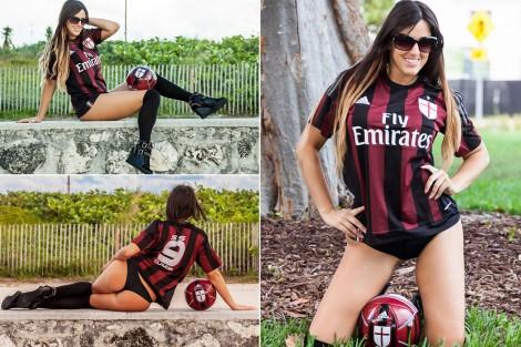 Referee-Claudia-Romani-AC-Milan-fan