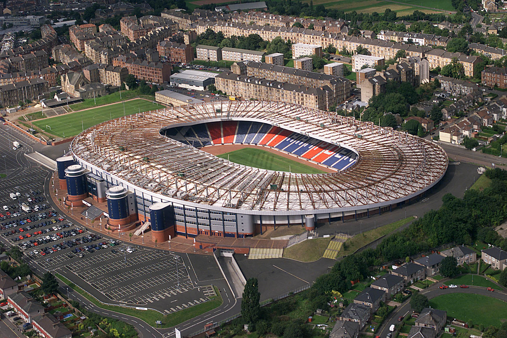 29/7/99 HAMPDEN - GLASGOW Hampden Park, Scotland's national stadium