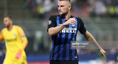 Milan Skriniar of FC Internazionale  during Uefa Champions