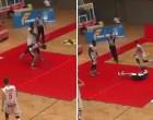 VIDEO/ Episodi i shëmtuar në Austri, basketbollisti godet me grusht kundërshtarin