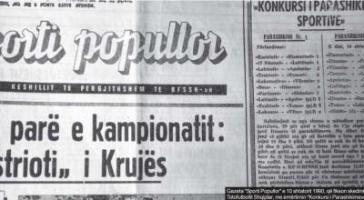 sporti popllor 10 shtator 1990