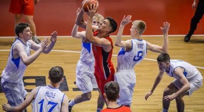 Shqiperia U16 Europiani Basket