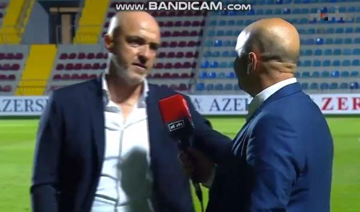 VIDEO  E pyesin për Trashin  shikoni çfarë bën trajneri i Partizanit