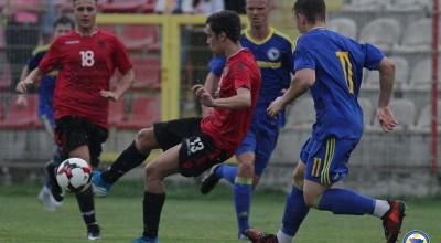 Shqiperi-Bosnje u17