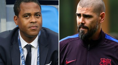SPORT-PREVIEW-Victor-Valdes-and-Patrick-Kluivert