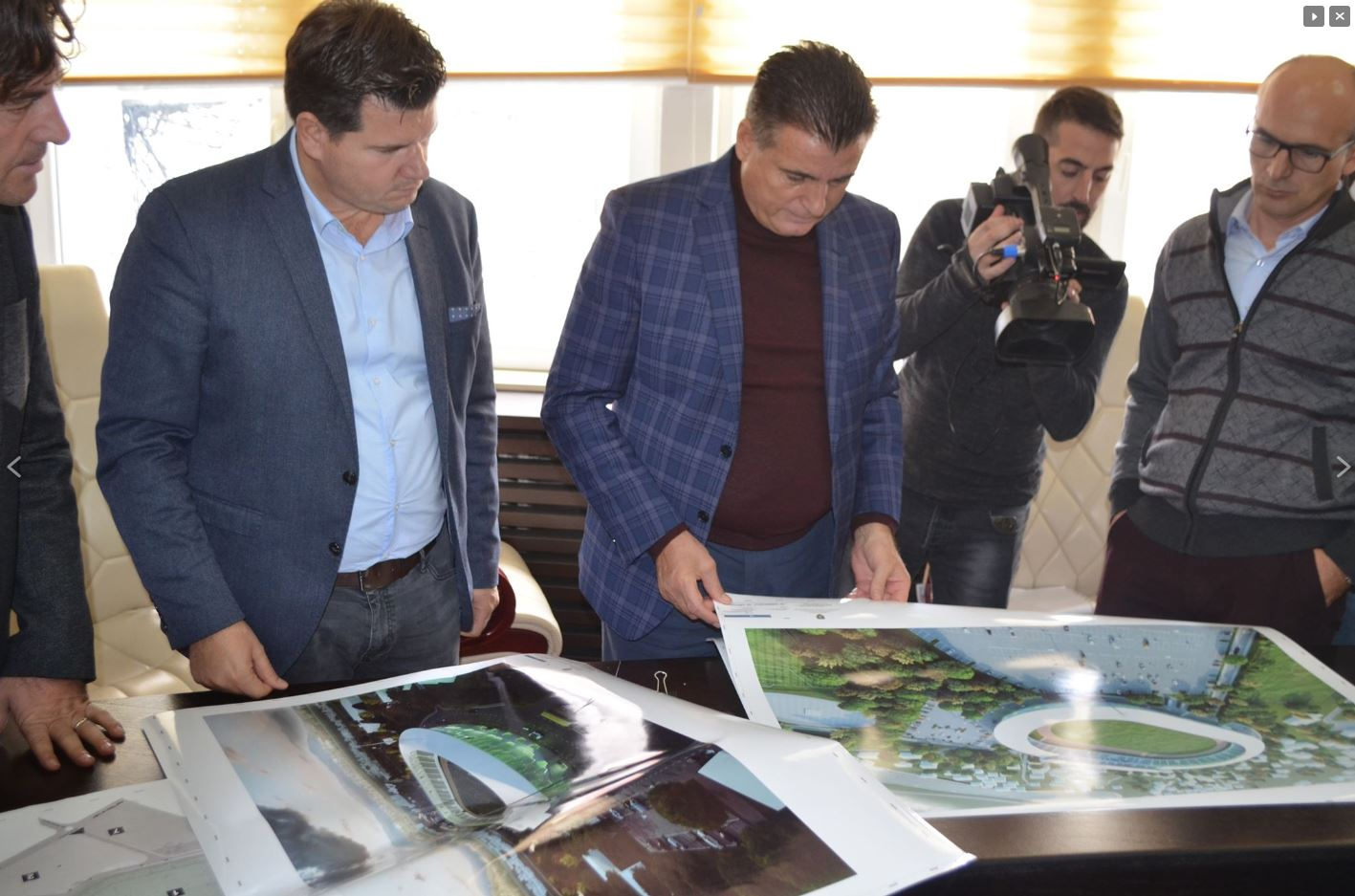 Kosove, projekti i stadiumit
