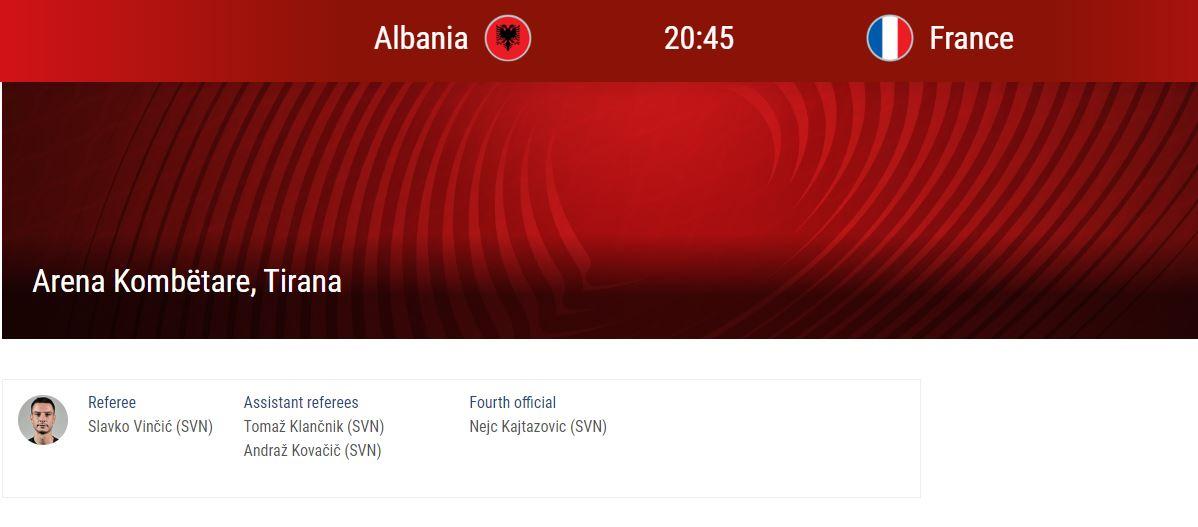 Shqiperi-France