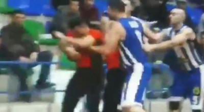 basketbollisti daliu godet gjyqtarin muho dhune basketboll