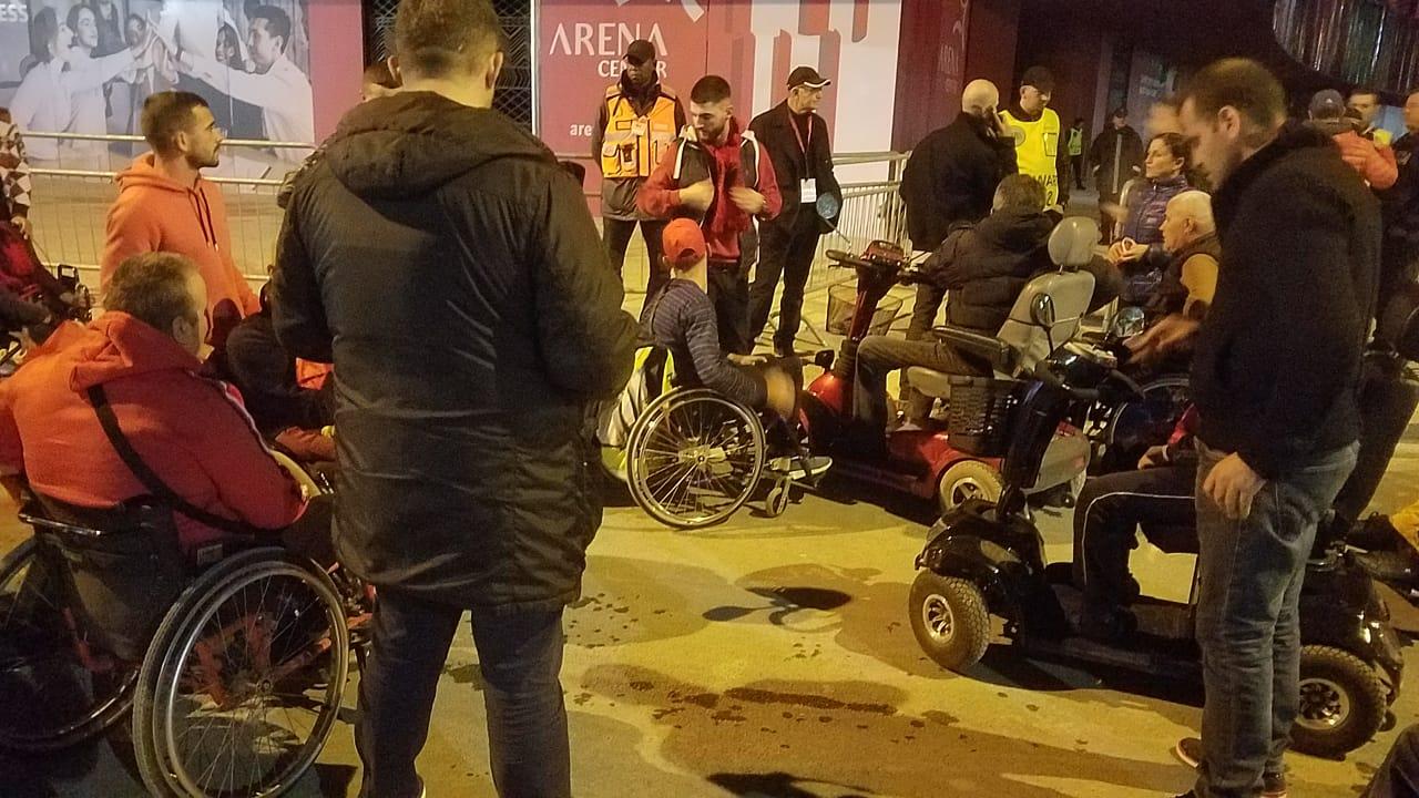 tifozet invalide