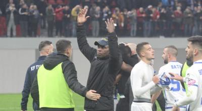 Emanuel Egbo Tirana derbi