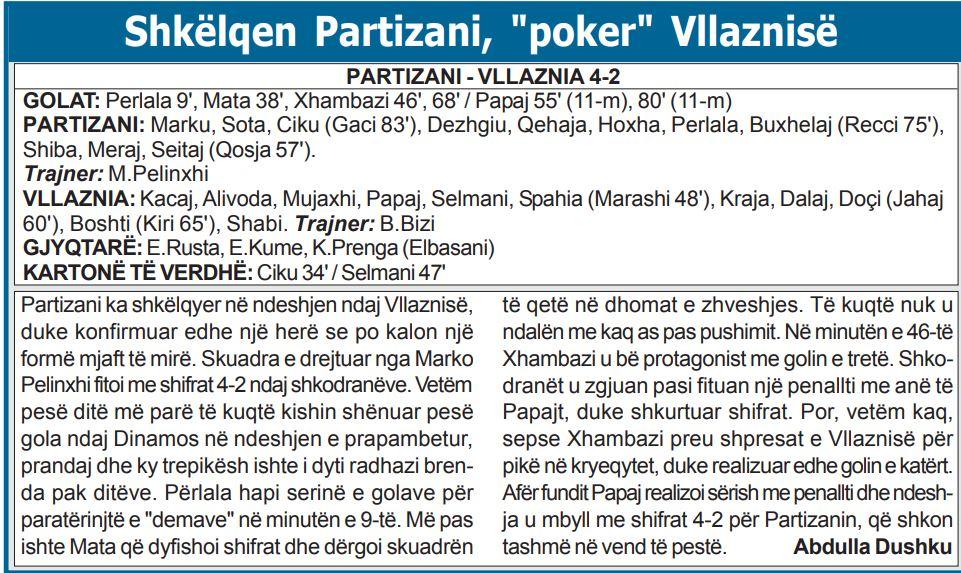 Partizani Vllaznia U-17
