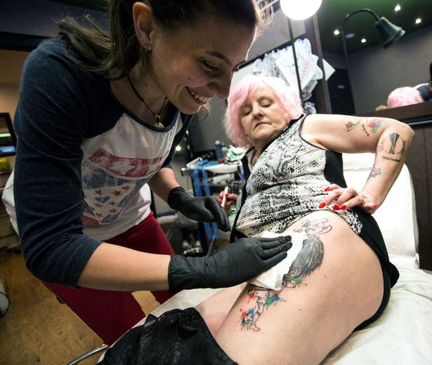 Viv-Bodycote-gets-a-tattoo-of-Jose-Mourinho-from-Dilyana-at-Hink-Me-Tattoo-Parlour-in-Hinkley
