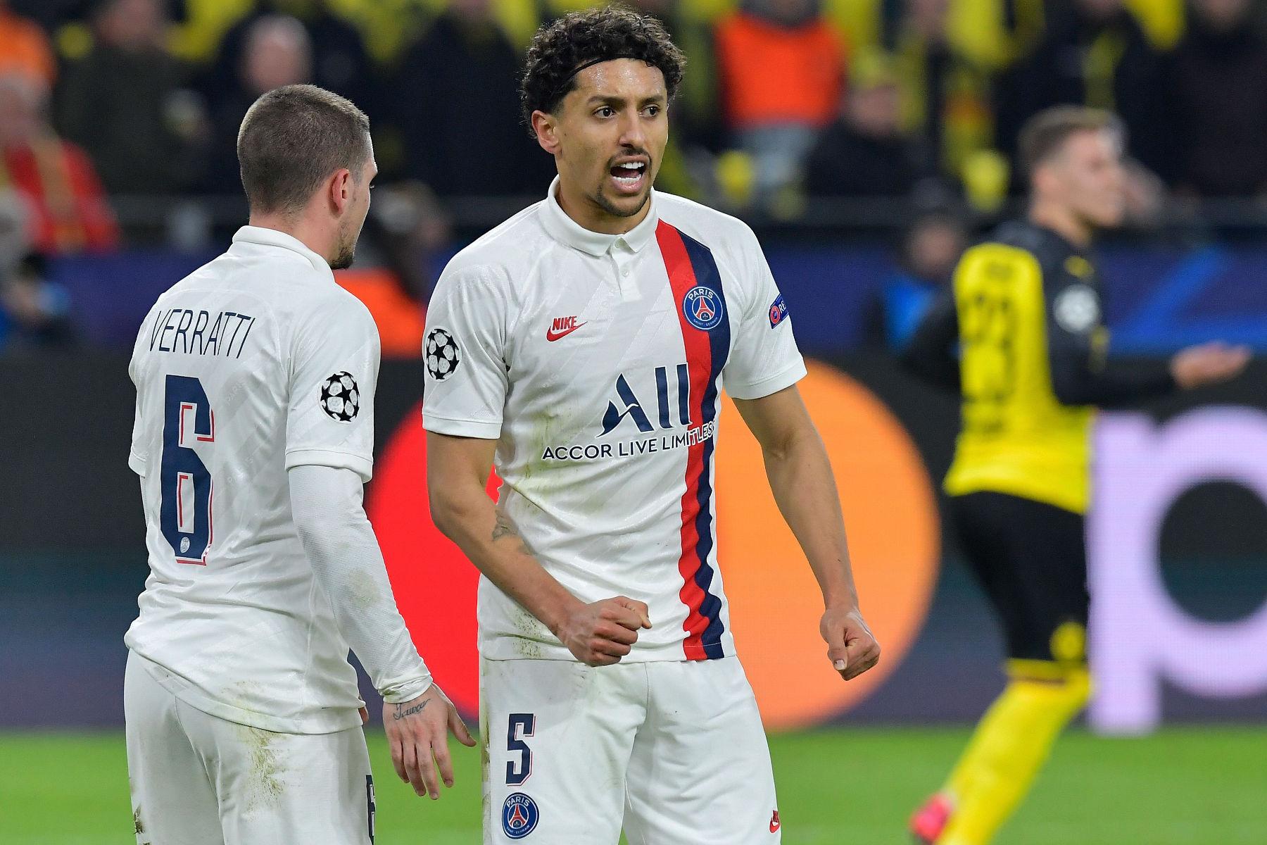 Marquinhos-defending-Dortmund-vs-PSG-Champions-League-2020