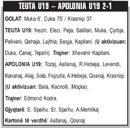 TEUTA U19