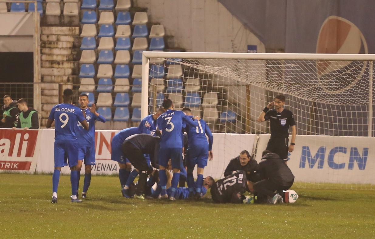 Teuta goli ndaj Partizanit