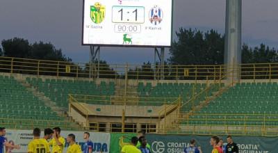 Lokomotiva Zagreb - Istra 1-1