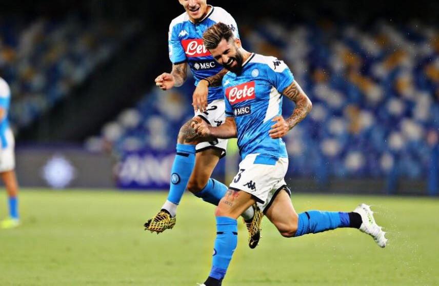 Hysaj goli i pare me Napolin