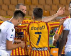 Lazios-Patric-sent-away-for-BITING-Giulio-Donati-in-his