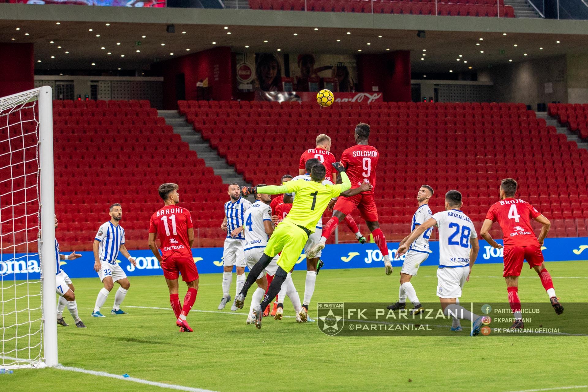 Partizani-Tirana 1-1