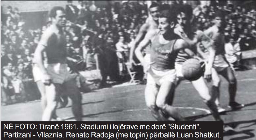 Tirana basketboll 1961