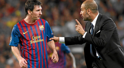 Messi-Phones-Guardiola-to-Discuss-Possible-Man-Citys-Interest