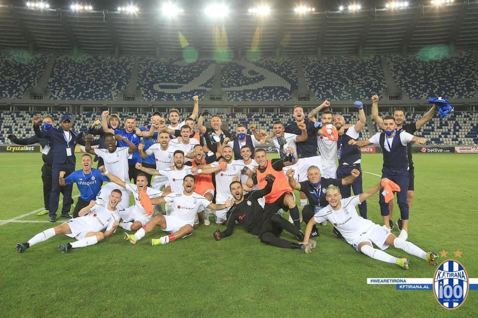 Tirana festa pas ndeshjes