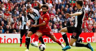 Fotboll, Premier League, Liverpool - Newcastle