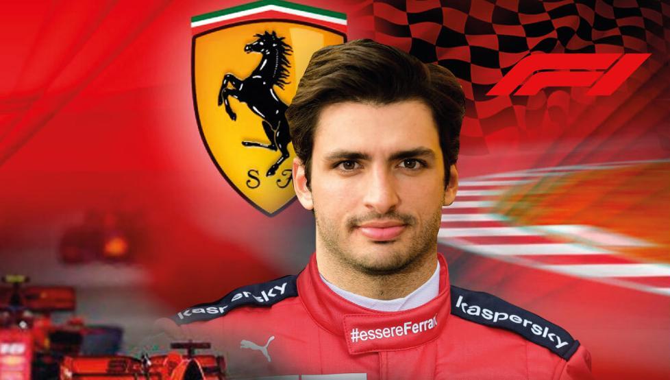 Atalayar_Carlos Sainz Jr Ferrari F1