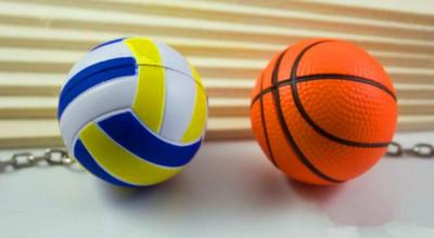 soft-foam-big-volleyball-basketball-key-pendant