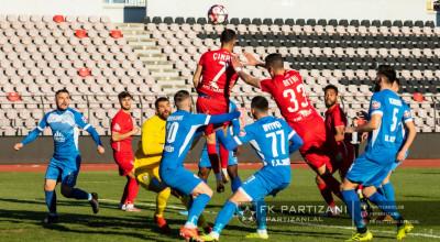 Kukesi-Partizani 1-2 aksion Elbasan Arena