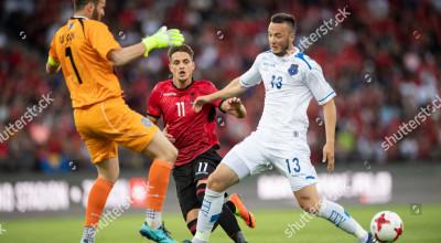 Kosovo vs Albania, Zurich, Switzerland - 29 May 2018