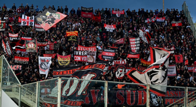 Milan's supporters during the Italian Serie A soccer match ACF Fiorentina vs AC Milan at the Artemio Franchi stadium in Florence, Italy, 11 May 2019. ANSA/CLAUDIO GIOVANNINI