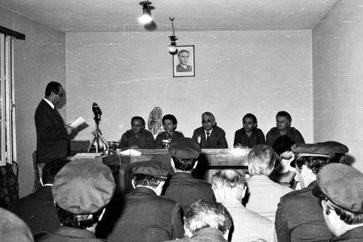 Çaste nga zhvillimi i procesit gjyqesor ndaj kadri hazbiut dhe bashkepunetoreve te tij, ne vitin 1983