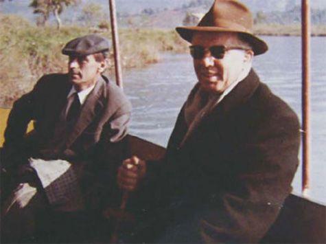 Enver Hoxha dhe Kadri Hazbiu