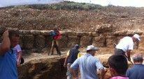 Gjatë punës në parkun arkeologjik