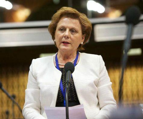 Valentina Leskaj në Këshillin e Europës