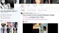 """Profili i Kim Kardashian ne """"Twitter"""""""