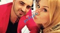 Në foto: Adelina Tahiri dhe ish i dashuri