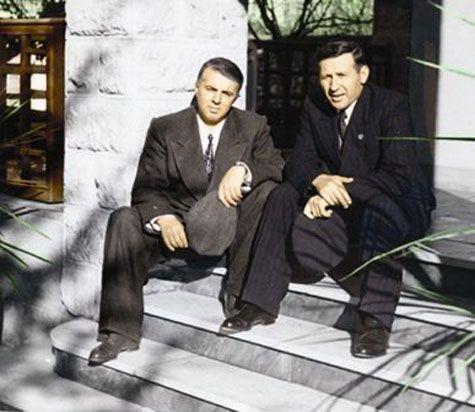 Enver Hoxha dhe Mehmet Shehu