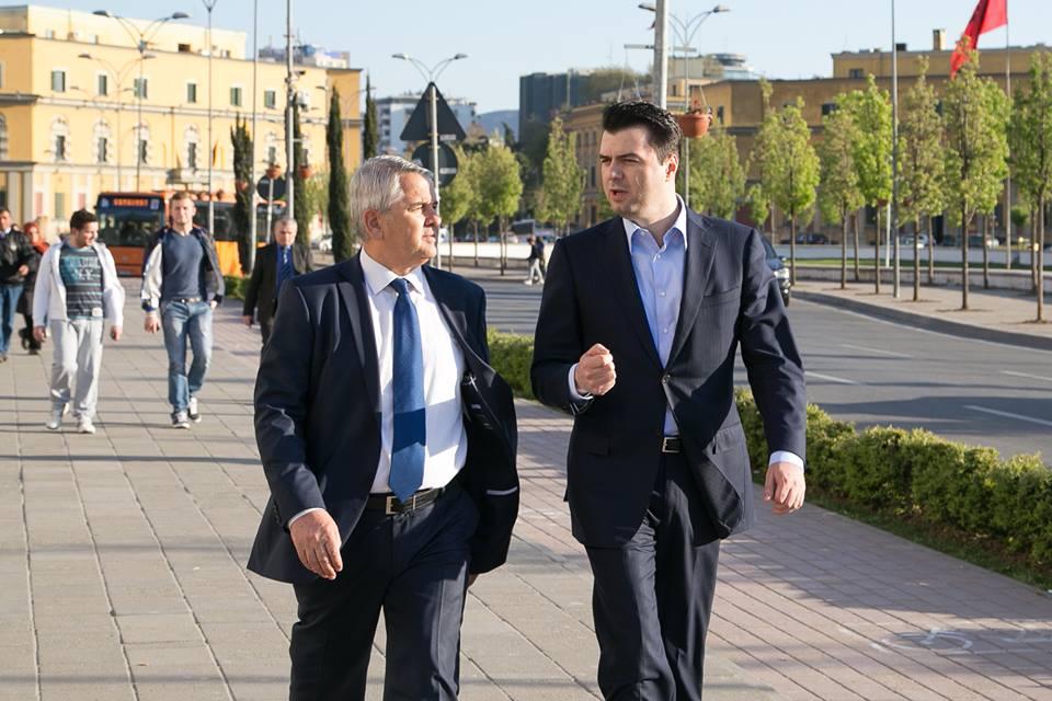 Lulzim Basha dhe Halim Kosova