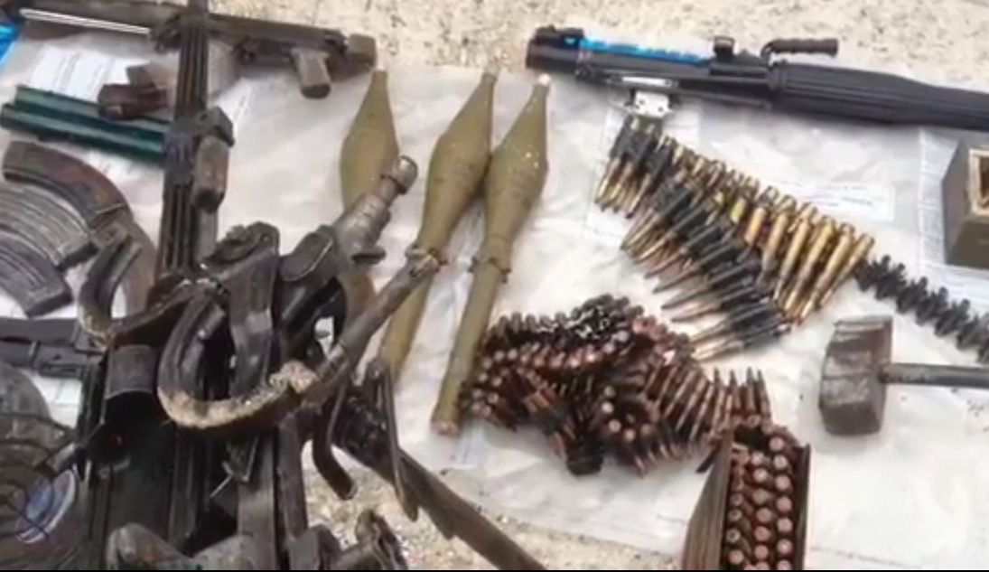 Arsenali i armeve i zbuluar ne Lazarat