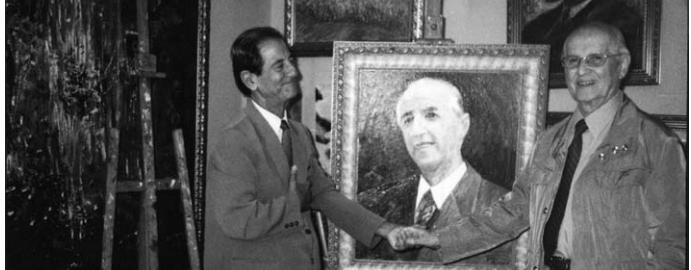 Guro Zeneli në 85-vjetorin e ditëlindjes së Ramiz Alisë