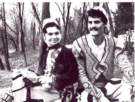 Mediha Lubonja me valltarin Rexhep Çeliku